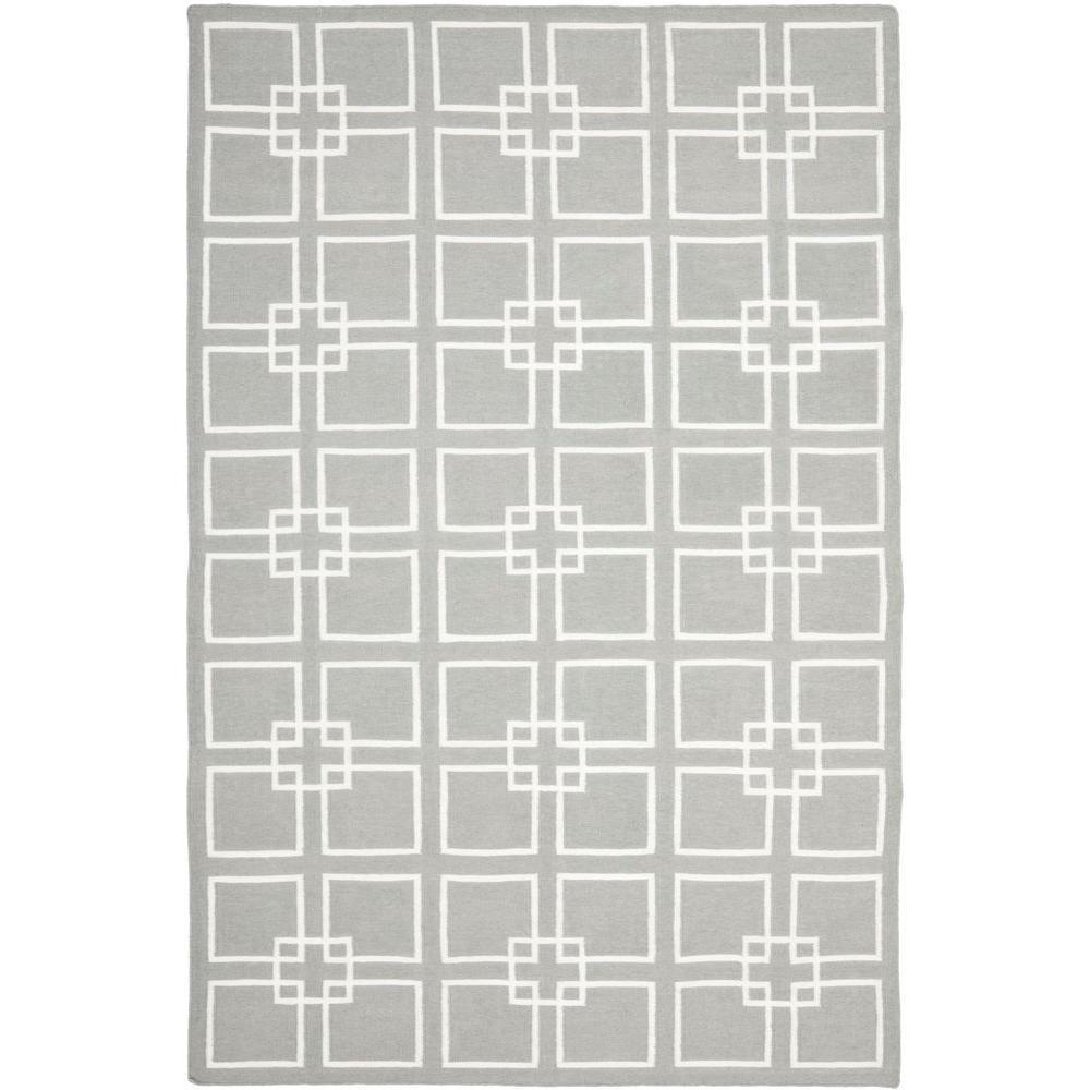 Safavieh Martha Stewart Cement Gray 6 ft. x 9 ft. Area Rug