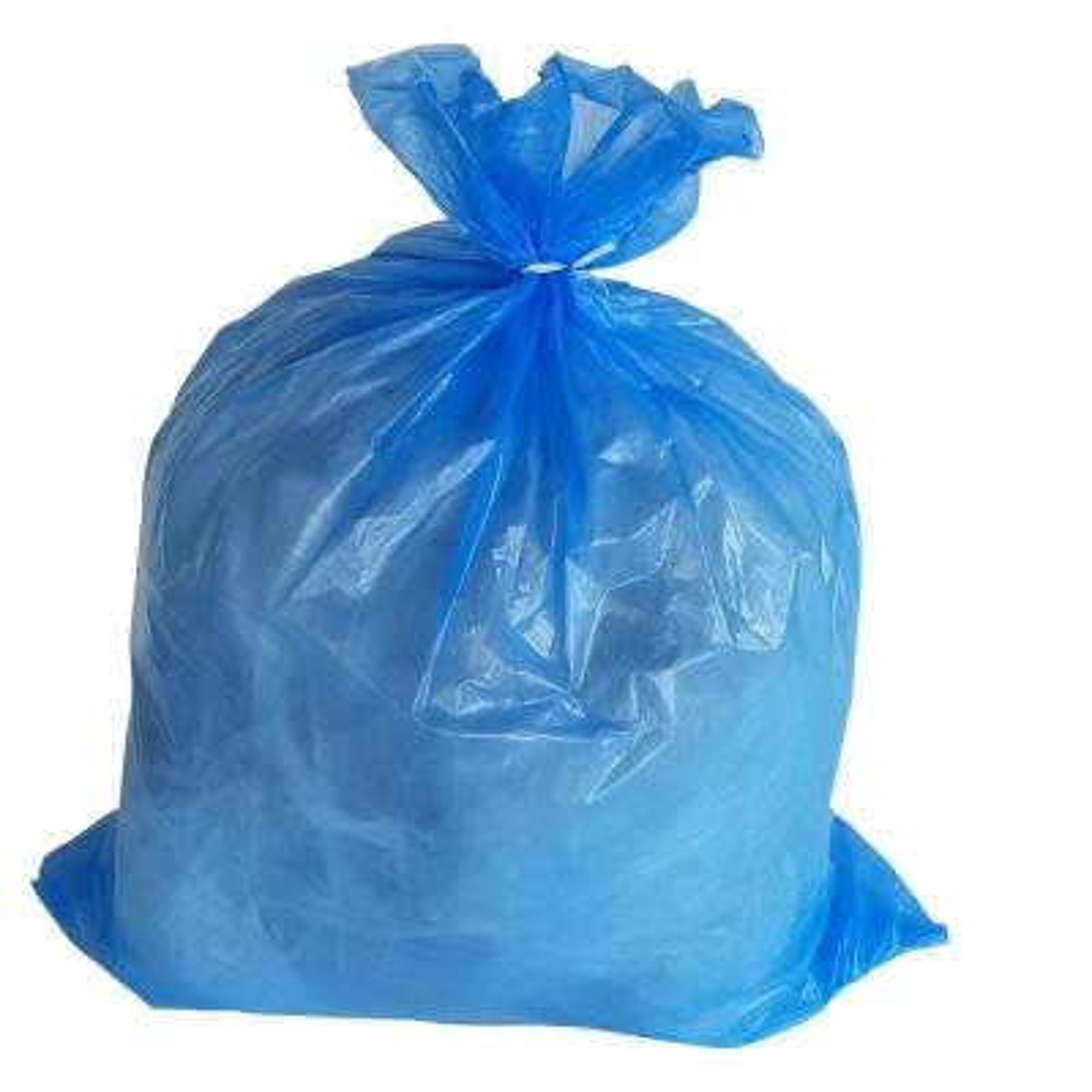 30 in. W x 36 in. H 30 Gal. 1.2 Mil Blue Trash Bags (200-Count)