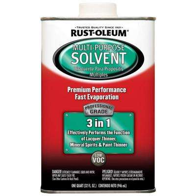 1-qt. Professional Grade Multi-Purpose Solvent (Case of 4)