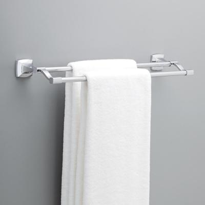 Portwood 24 in. Double Towel Bar in Chrome