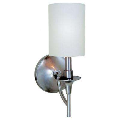 Stirling 1-Light Brushed Nickel Sconce