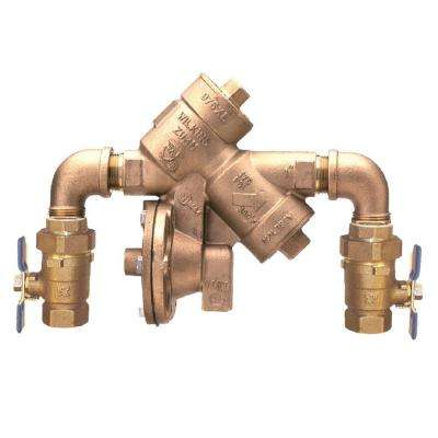 2 in. Lead-Free Reduced Pressure Principle Assembly with Street Elbows and Union Ball Valves