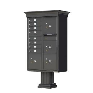Florence 1570 Series 8 Mailboxes, 1 Outgoing, 4 Parcel Lockers, Vital Cluster Box Unit with Vogue Classic... by Florence