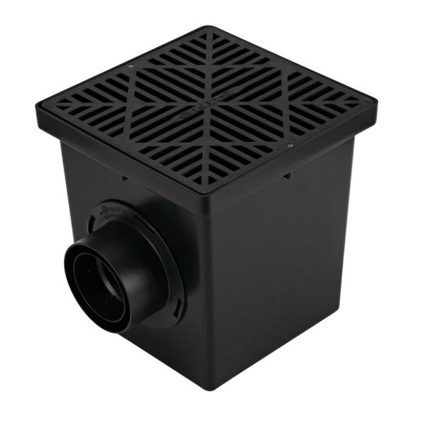 12 in. x 12 in. Drainage Catch Basin, 2 Opening Kit