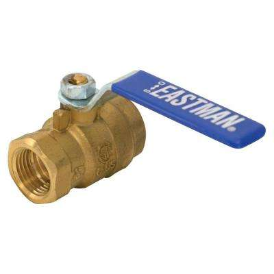 1-1/4 in. x 1-1/4 in. Brass IPS Full Port Ball Valve