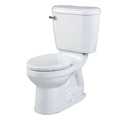 Doral Champion 4 2-Piece 1.6 GPF Round Toilet in White