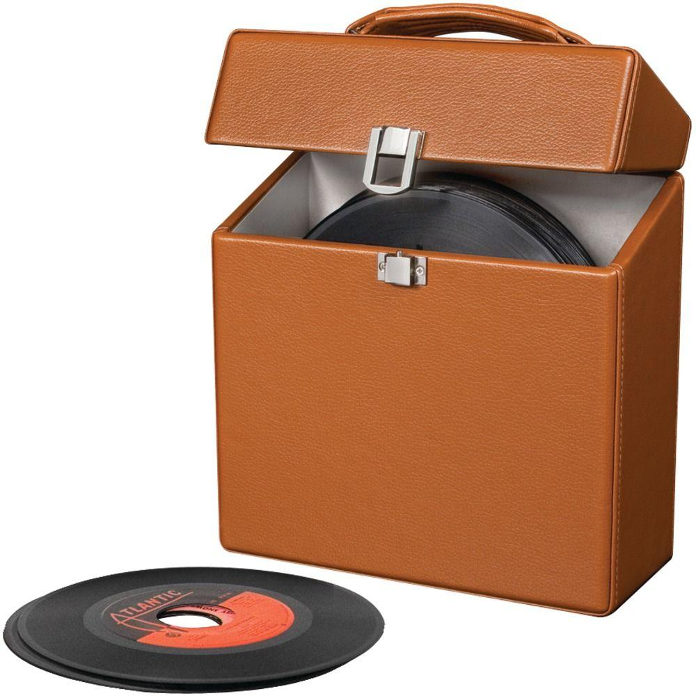 Crosley 45RPM Carrying Case - Tan-DISCONTINUED