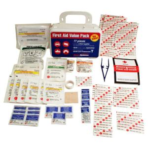 Ready America 77-Piece First Aid Kit by Ready America