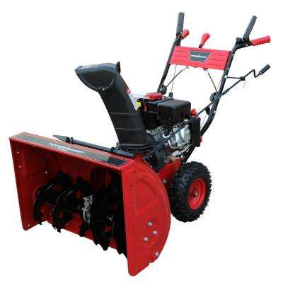 Refurbished 24 in. 208 cc Two-Stage Gas Snow Blower