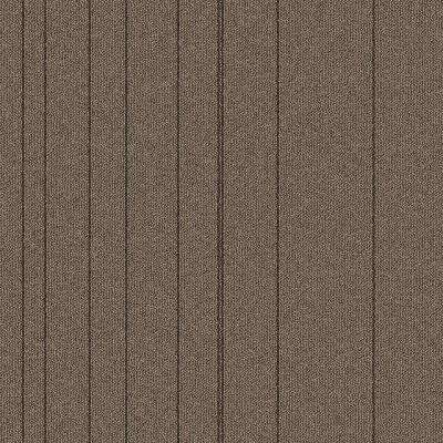Fixed Attitude Praline Patterned 24 in. x 24 in. Carpet Tile (24 Tiles/Case)