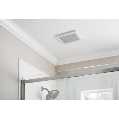 50 CFM Wall/Ceiling Mount Roomside Installation Bathroom Exhaust Fan, ENERGY STAR