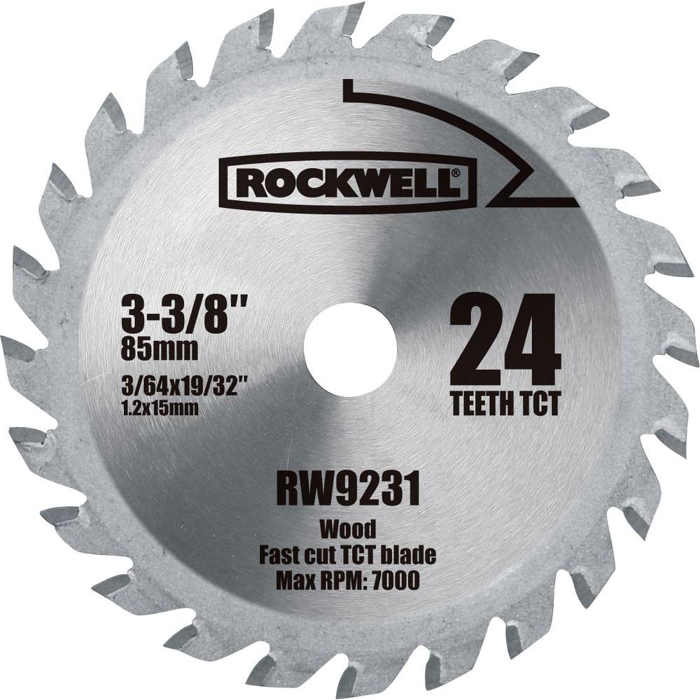 Versacut 3 38 in 24 teeth carbide tipped blade rw9231 the home depot 24 teeth carbide tipped blade greentooth Images