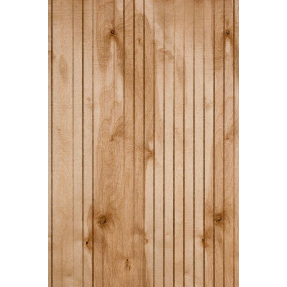 1 4 In X 4 In X 8 Ft Waterford Maple Panel 219040 The Home Depot