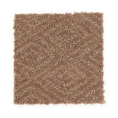 Carpet Sample - Hammock - Color Native Soil Pattern 8 in. x 8 in.