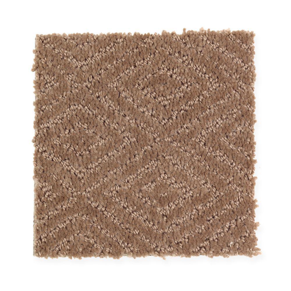 Carpet Sample - Hammock - Color Native Soil Pattern 8 in. x 8 in.