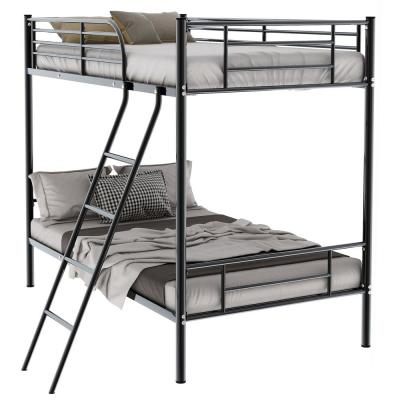 Urban Black 56.5-in W Twin Over Size Metal Bunk Bed