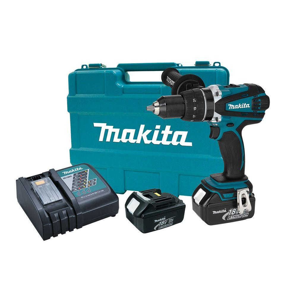 Makita 18 Volt Lxt Lithium Ion 1 2 In Cordless Driver