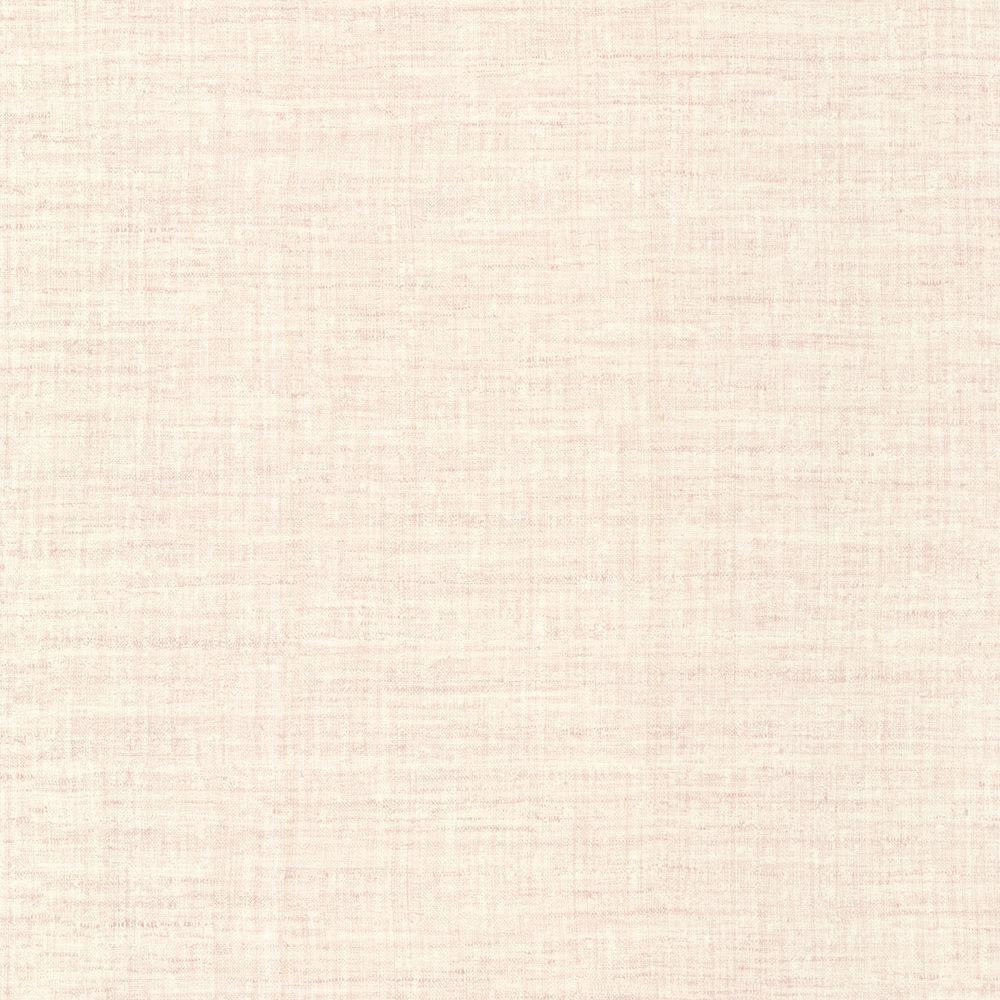 Breeze Salmon Woven Texture Wallpaper