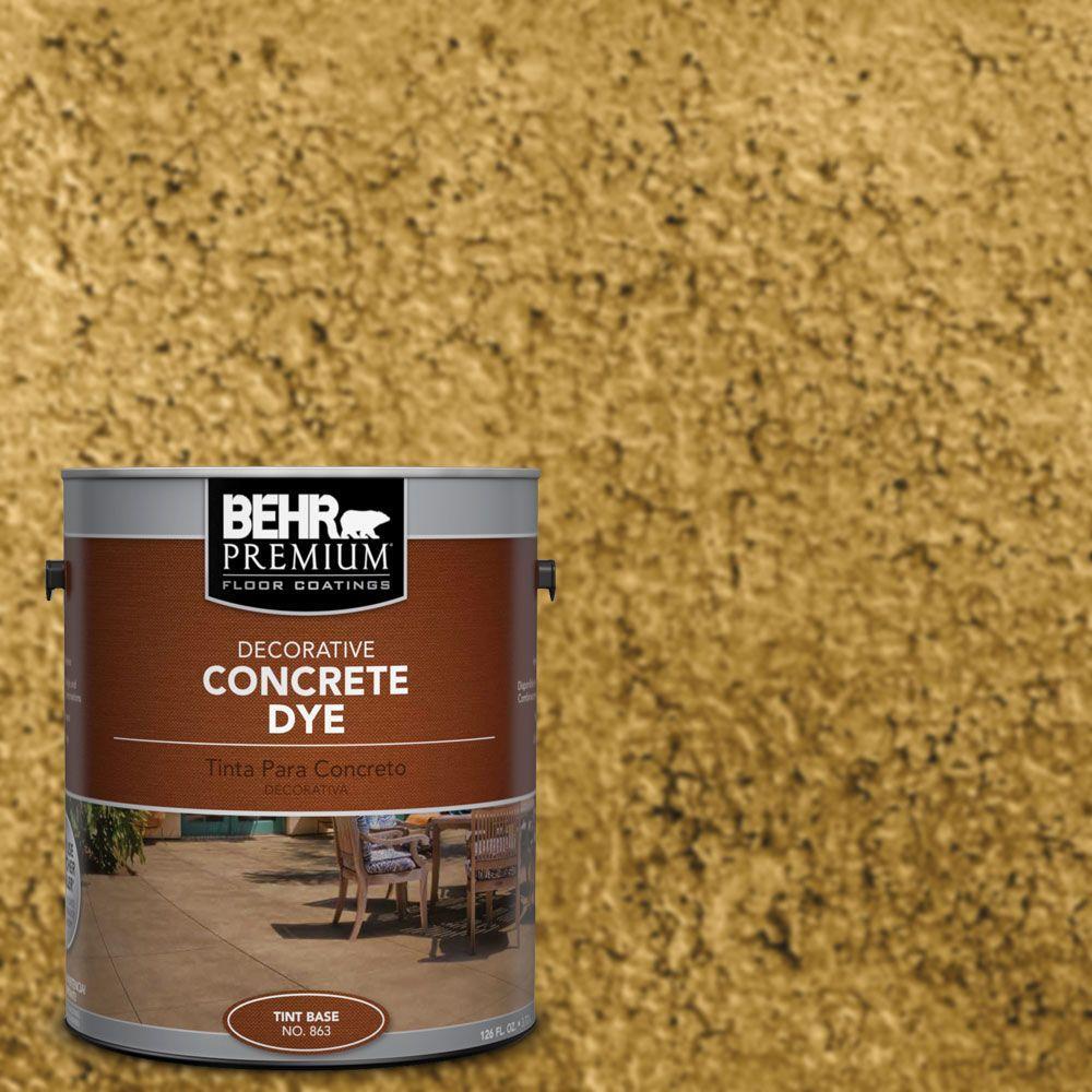 BEHR Premium 1 gal. #CD-816 Golden West Concrete Dye