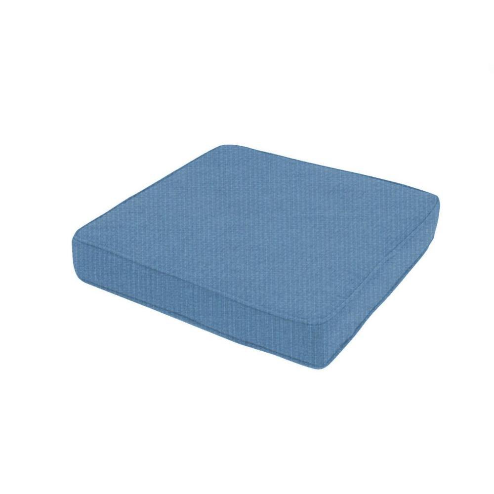 Blue Outdoor Floor/Pool Cushion