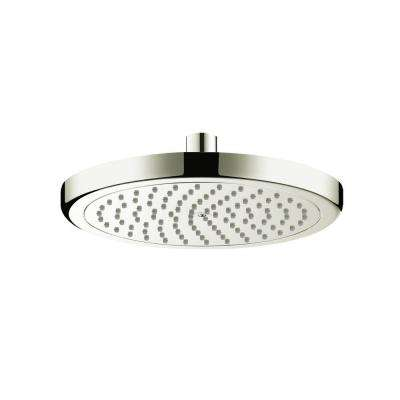 Croma 220 1-Spray 9 in. Showerhead in Brushed Nickel