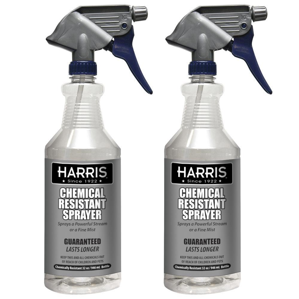 Harris 32 oz. Heavy-Duty Chemical Resistant Pro Spray Bottle (2-Pack)