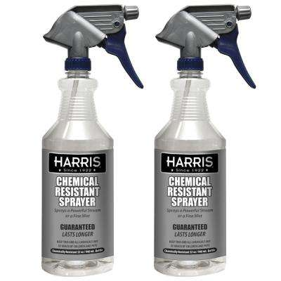 32 oz. Heavy-Duty Chemical Resistant Pro Spray Bottle (2-Pack)