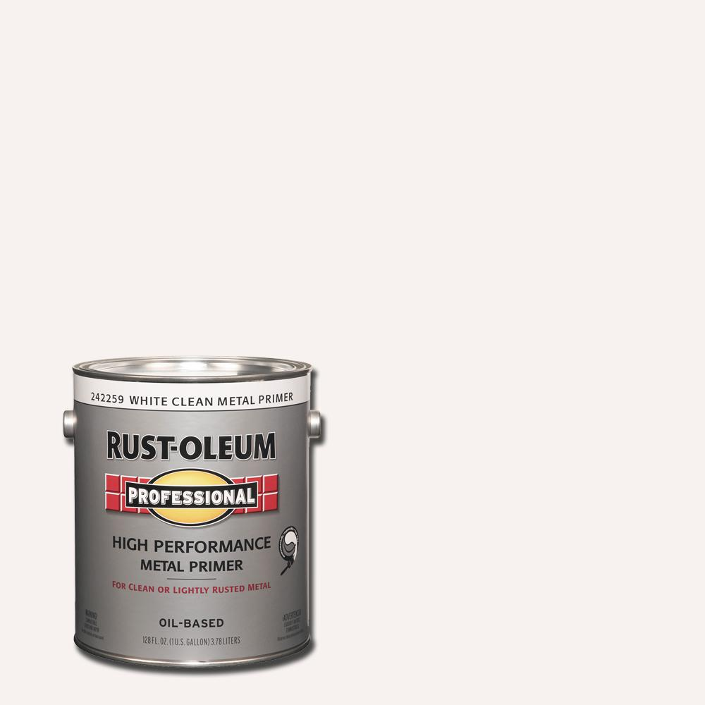 Rust-Oleum Professional 1 gal  White Clean Metal Rust Preventive Primer  (Case of 2)