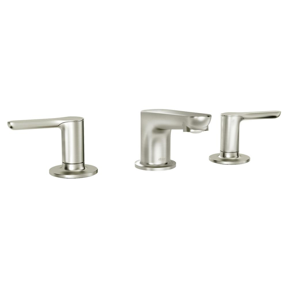 American Standard American Standard Studio S 8 in. Widespread 2-Handle Low Spout Bathroom Faucet in Brushed Nickel