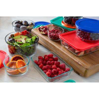 Simply Store 16-Piece Glass Food Storage Assorted Set
