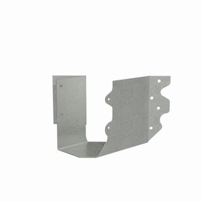 SUL Galvanized Joist Hanger for Double 2x6 Nominal Lumber, Skewed Left