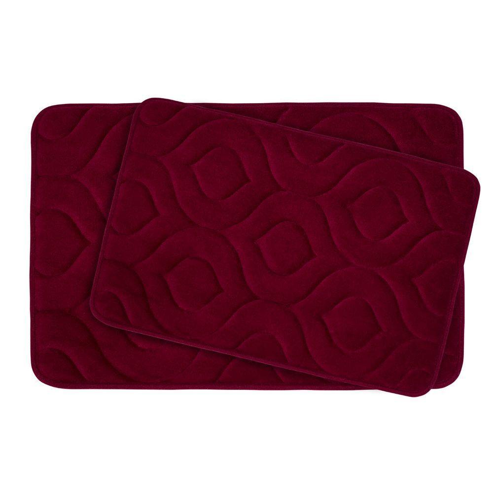 Bouncecomfort Naoli Barn Red 20 In X 30 In Memory Foam 2
