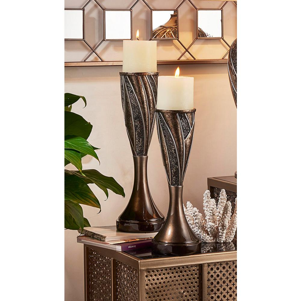 Lelei Gold/Silver Candle Holder (Set of 2)