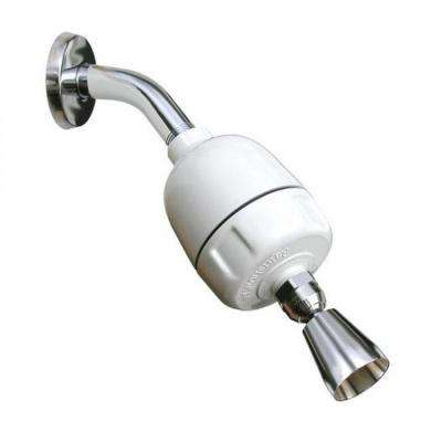 Shower Filter System with Whedon Designer Showerhead CQ-1000-DS in Chrome