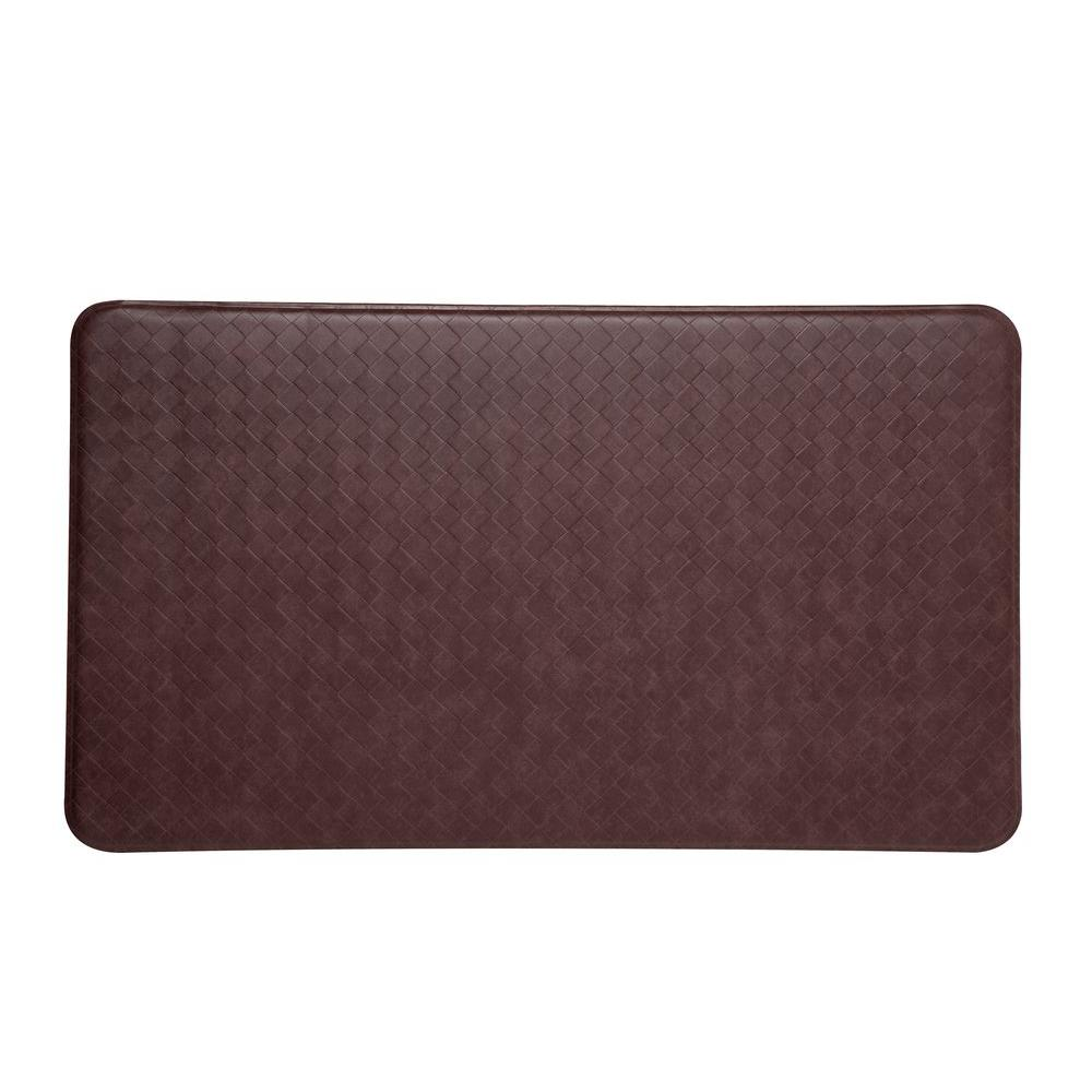 IMPRINT Comfort Mat Nantucket Cinnamon 26 in. x 48 in. Anti-Fatigue Comfort Mat