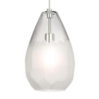 LBL Lighting Calix 49-Watt Satin Nickel Integrated LED
