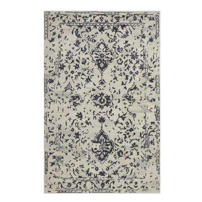 Castillo Charcoal 2 ft. x 3 ft. Area Rug