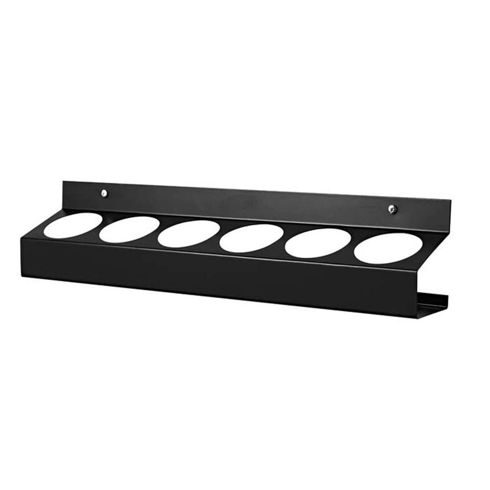 Racor Black 6-Can Rack-DISCONTINUED