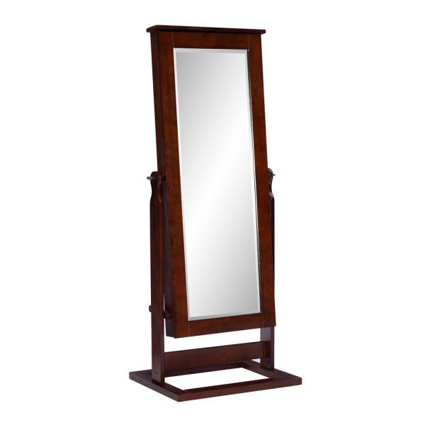 Powell Company Cheval Jewelry Armoire, Jewelry Mirrored Armoire