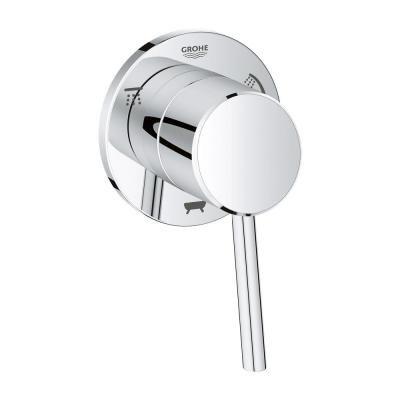 Concetto 1-Handle 3-Way Diverter Valve Only Trim Kit in StarLight Chrome (Valve Sold Separately)