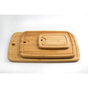 3-Piece Bamboo Cutting Board Set with Juice Well