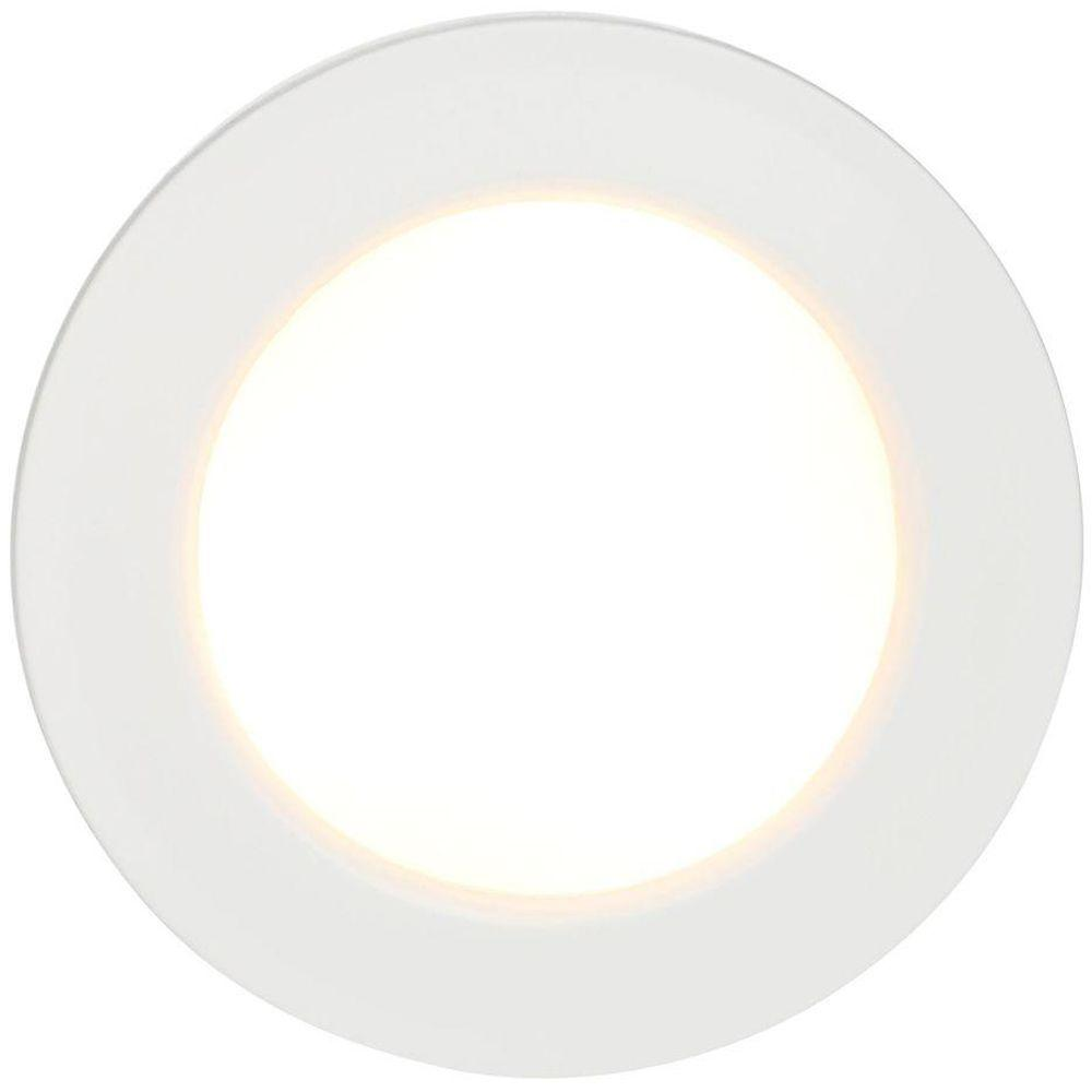 Commercial electric 3 light led white puck light 21353nkit wh commercial electric 3 light led white puck light mozeypictures Image collections