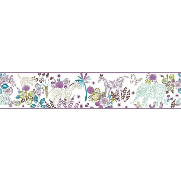 York Wallcoverings Waverly Kids Day Dream Wallpaper Border WK6882BD