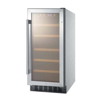 15 in. 23-Bottle Built-in Wine Cooler, ADA Height