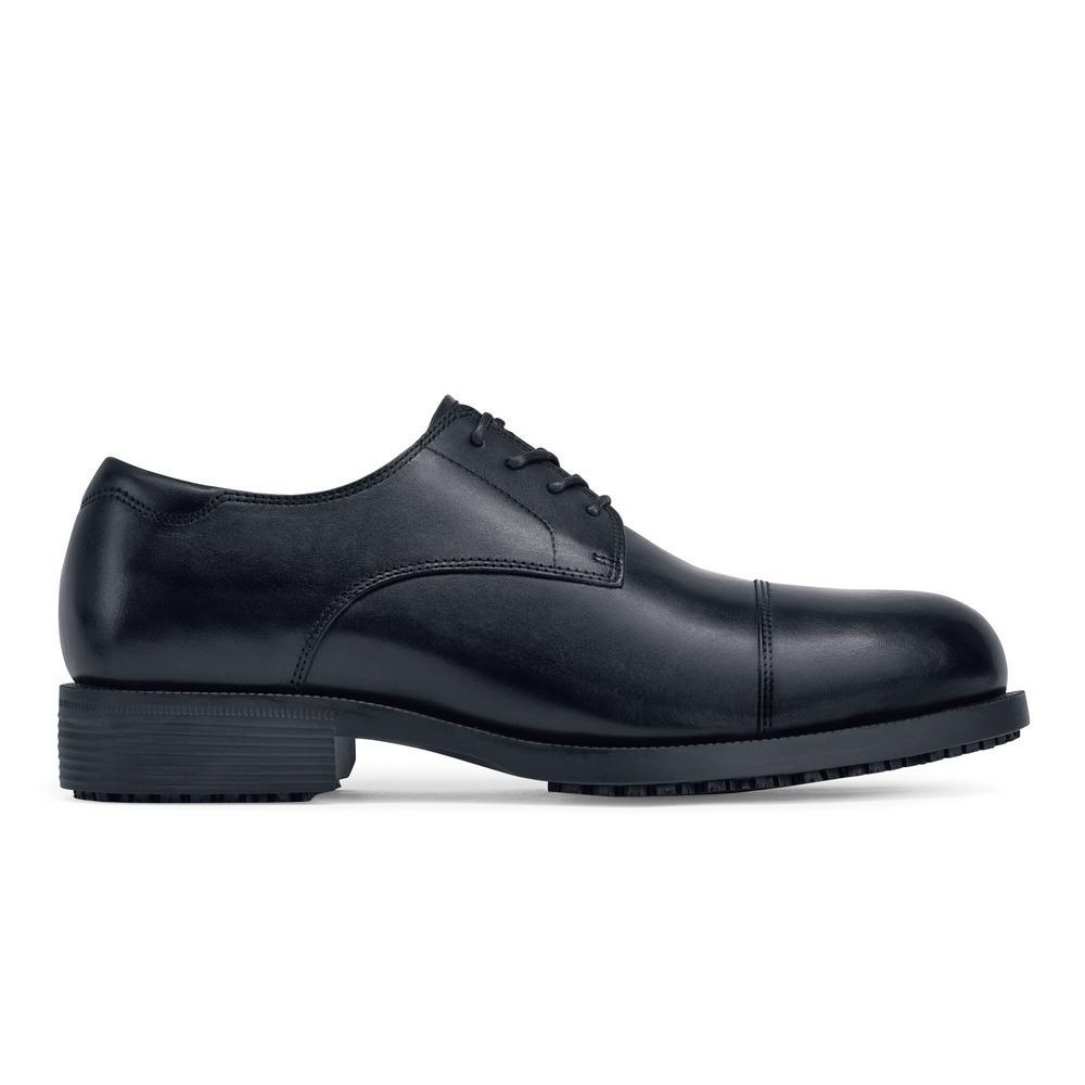 edb574b0c5bb Senator ST Men s Size 13 Black Leather Slip-Resistant Steel Toe Work Shoe