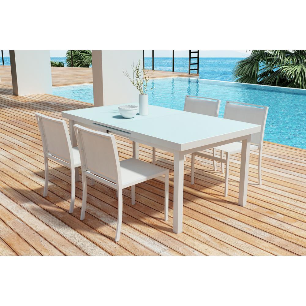 Mayakoba Aluminum Outdoor Dining Table