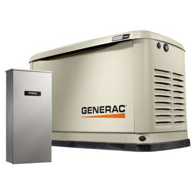 20000-Watt (LP)/18000-Watt (NG) Air-Cooled Standby Generator with Wi-Fi and Whole House 200 Amp NEMA3 Transfer Switch