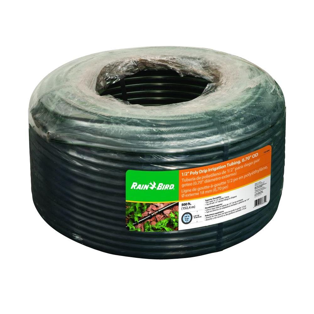 Rain bird in ft drip irrigation tubing coil