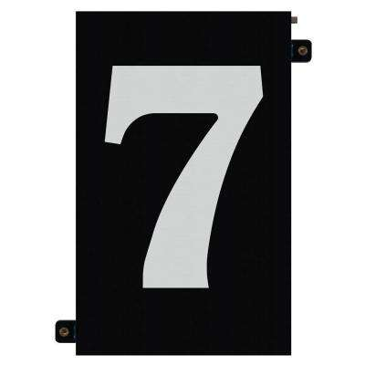 5 in. Modular LED Illuminated House Number 7