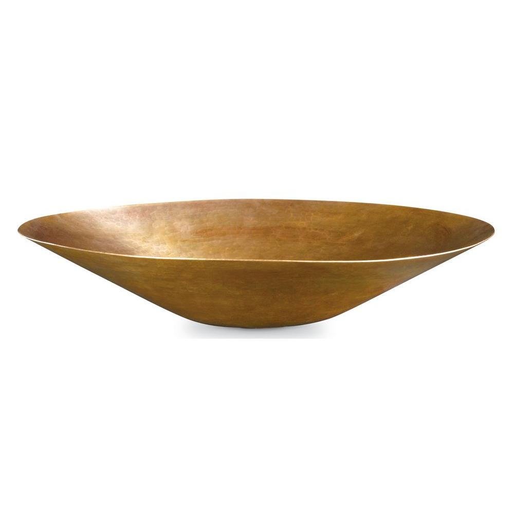 Thompson Traders Vessel Sink in Antique Satin Gold